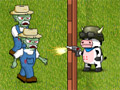 Online Game Cow Vs Zombies