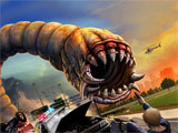 Online Game Death Worm