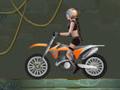 Online hra Moto Tomb Racer