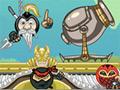 Online hra Ninja Cannon