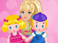 Online Game Barbie Twins Babysitter
