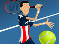 Online Game Stick Tennis