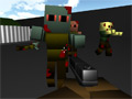 Online Game Zumbi Blocks