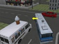 Online hra School Bus Parking 3D