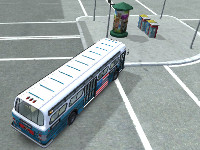 New game American Bus 3D Parking