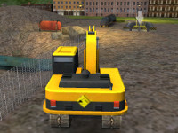 Heavy Excavator 3D Parking
