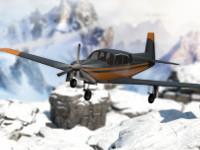 Snowy Mountains Flight Stunts