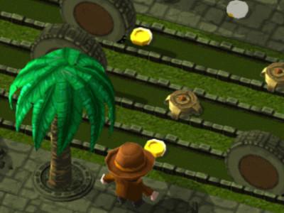Online hra Crossy Temple