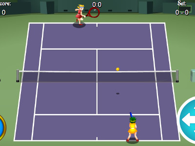 Online Game Tennis HTML5