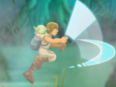 Yoda Jedi Training