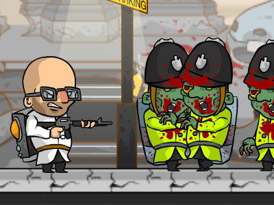 Online Game Zombie Cops of London
