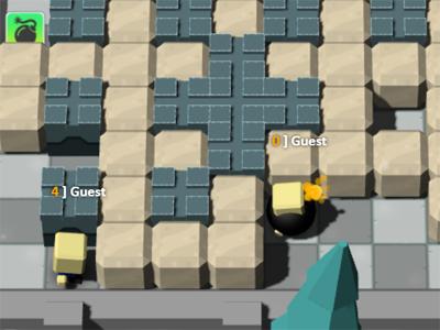 Jogo Bomberman Multiplayer online