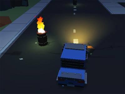Jogo Blocky Zombie Highway