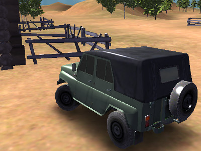 Online Game Russian UAZ Offroad Driving 3D