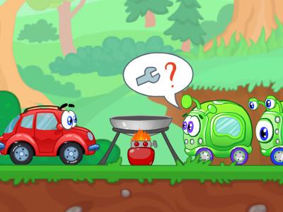 Online hra Wheely 8: Aliens