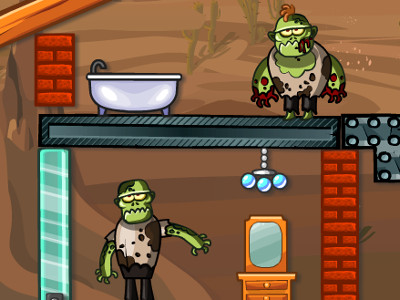 Online Game Zombie Demolisher 4