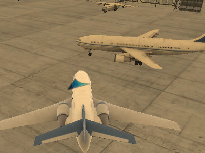 Online hra Airplane Parking