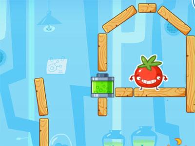 Online hra Brave Tomato 2