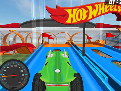 Online hra Hot Wheels: Track Builder