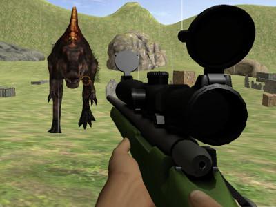 Online Game Jurassic Sniper