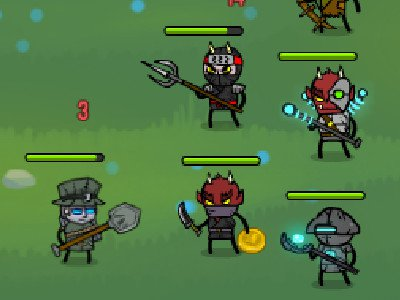 Online Game Loot Heroes: Clicker