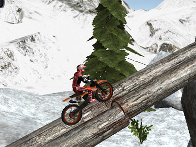 Online hra Moto Trials Winter 2