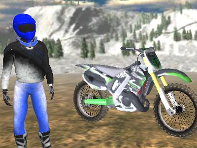 Online hra Motorbike Freestyle