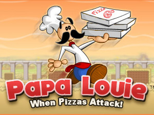 Jogo Papa Louie: When Pizzas Attack