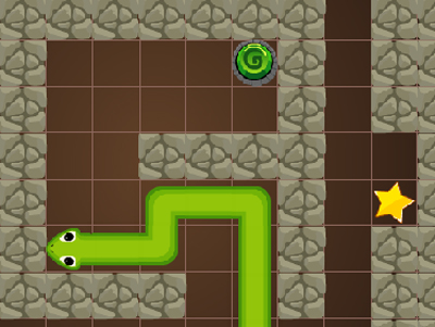 Online Game Snake Cave Escape
