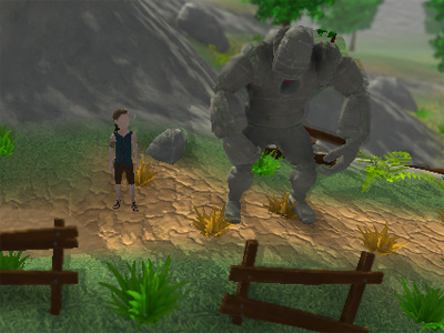 The Boy and the Golem