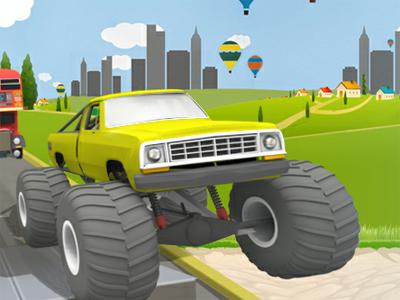 Uphill Climb Racing jogos360