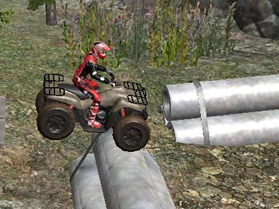 Online hra ATV Industrial