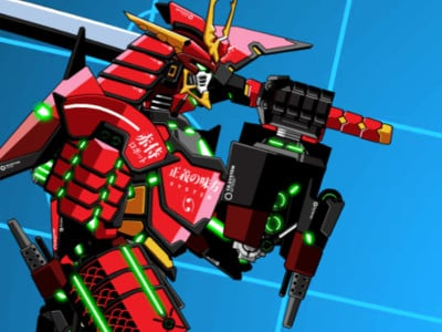 Online hra Battle Robot Samurai Age