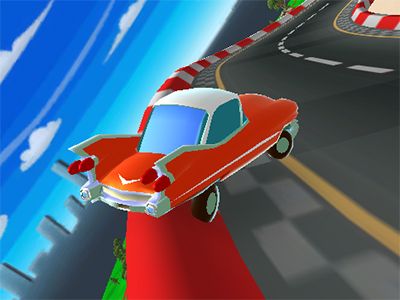 Online Game Cartoon Car Crash Derby Destruction World