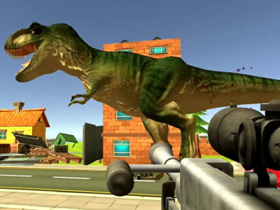 Online hra Dinosaur Hunter Dino City