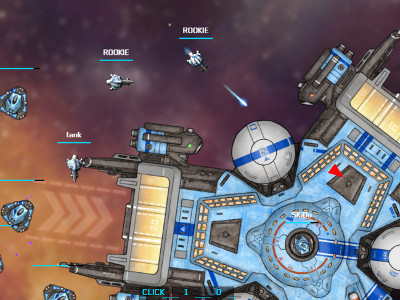 Online Game Hyperfleet.io