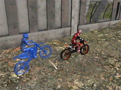 Online hra Moto Trials Industrial