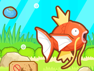 Online hra Pokemon Magikarp Jump Online