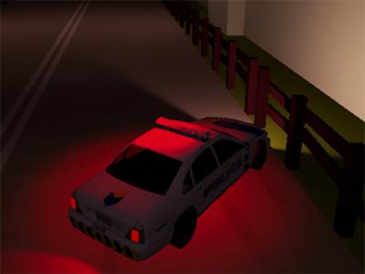 Online Game Police Patrol