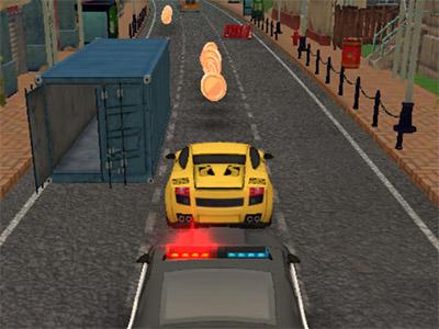 Online hra Supercar Endless Rush