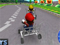 Online hra Mario Cart 3D