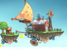 Online Game The Flying Farm