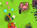 Online Game Zombie Kids - Easter Day