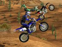 Online hra Motocross Nitro