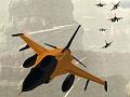 Orange Jet Fighter