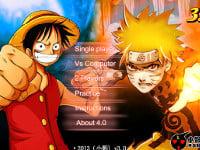 Juego en línea One Piece VS Naruto 3.0