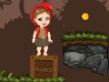 Online hra Red Girl in the Woods