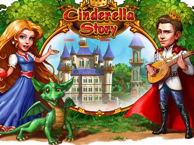 Online Game Cinderella Story