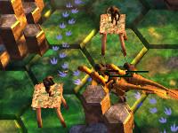 Juego en línea Dino Wars: Tower Defense