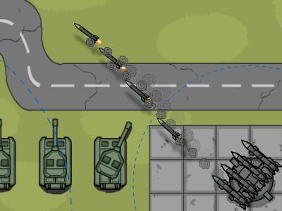 Online hra Missile Defence